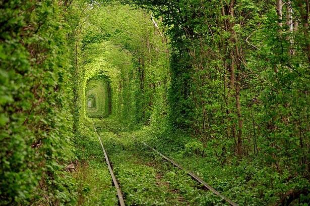 Túnel do Amor, Ucrânia