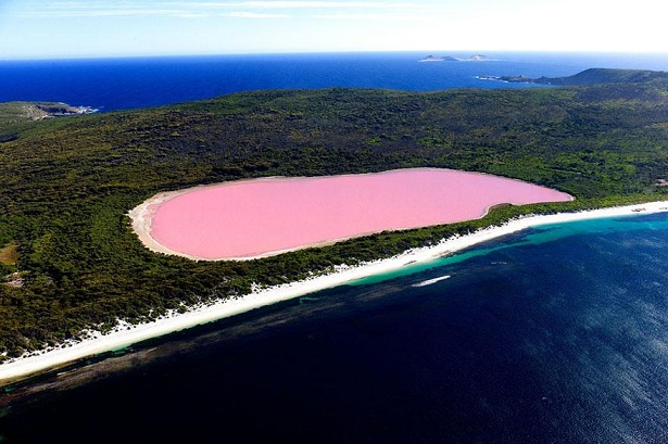 Lago Hillier, Austrália