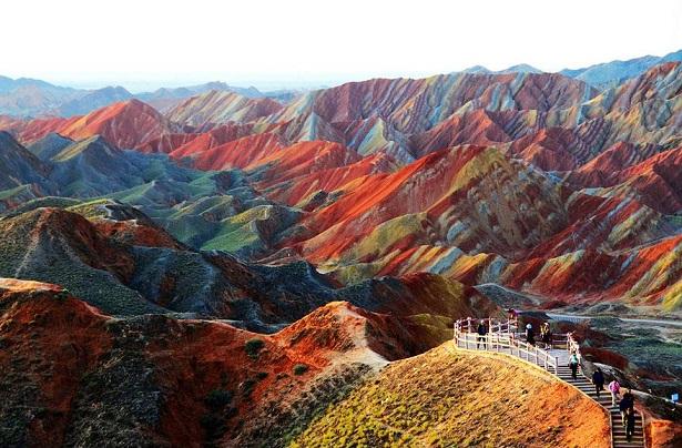 Parque Geológico – Zhangye Danxia Landform, China