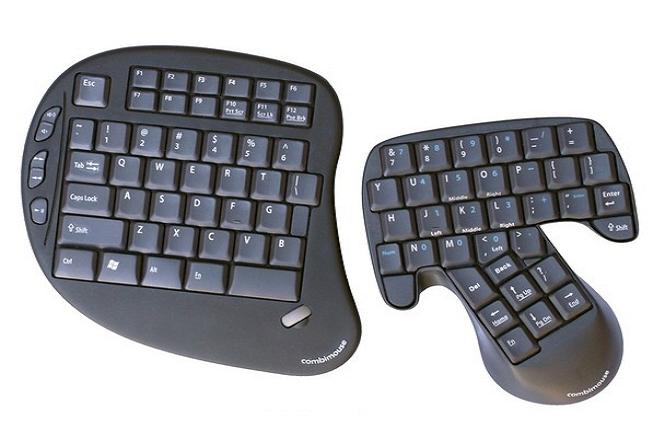 Combimouse, um híbrido de teclado e mouse que te permite obter uma experiência computacional ainda mais fluida