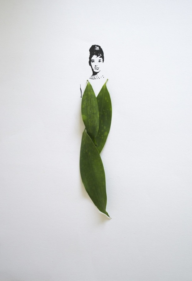 Fashion in Leaves por Tang Chiew Ling