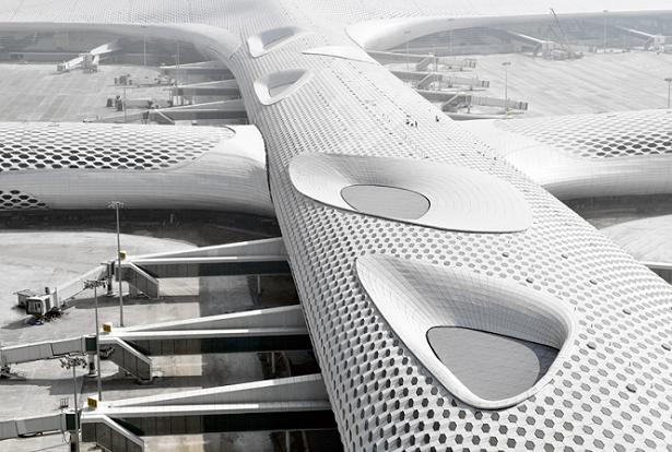 Veja em primeira mão as fotos da inauguração desse magnífico aeroporto na China