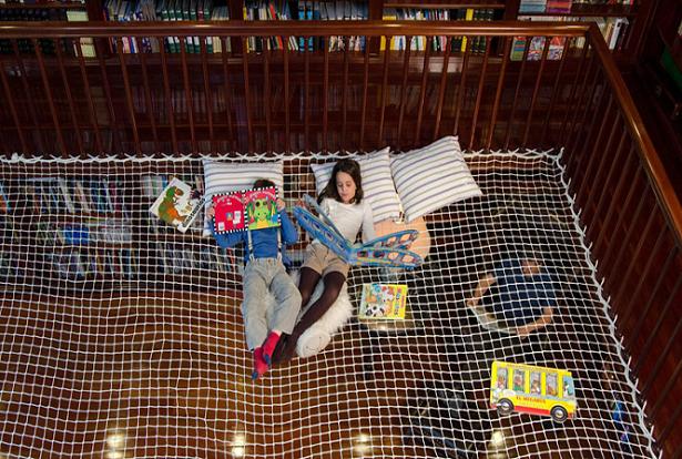 Reading net, a 'rede de leitura' que transforma uma casa tradicional em um ambiente de aprendizagem e interação