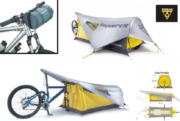 Bikamper, a barraca feita para quem gosta de pedalar