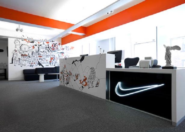 Veja o resultado do redesign da sede da Nike em Londres