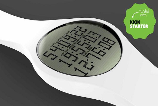 Tikker, o relógio que faz a contagem regressiva da sua vida para te lembrar de aproveitar cada segundo