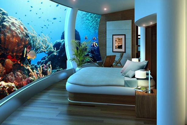 Poseidon Undersea Resort, o primeiro resort subaquático do mundo