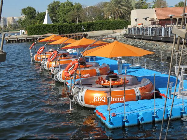 Uma invenção genial pra quem gosta de barcos e churrascos