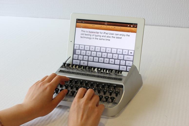 iTypewriter: Sim, é uma máquina de escrever para o iPad