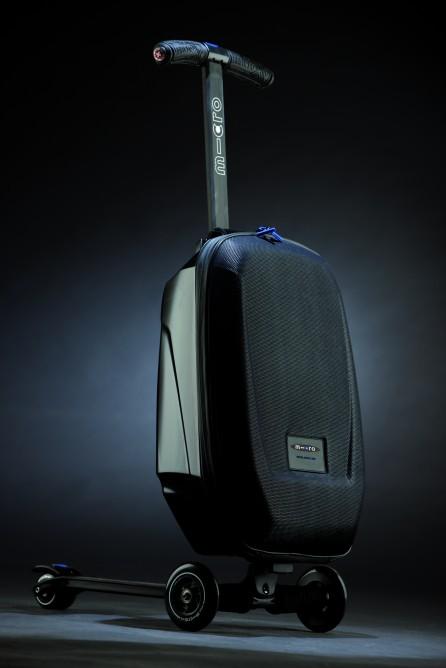 Micro Luggage: A bagagem e patinete para você não perder mais vôos
