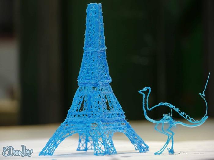 3Doodler, a primeira caneta que desenha em 3D