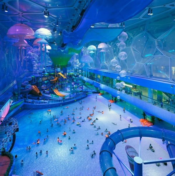 Veja como um complexo aquático olímpico se transformou em um dos destinos mais visitados de Pequim