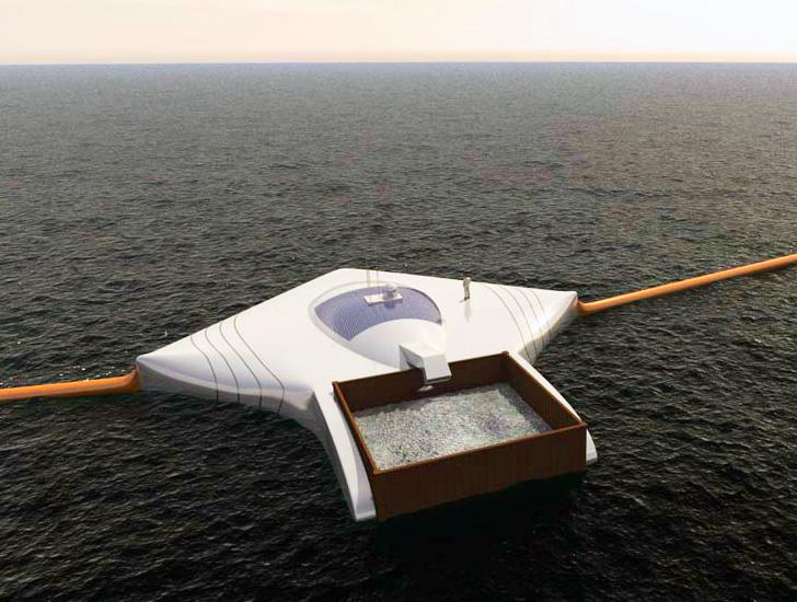 Um garoto de 20 anos revelou seus planos para os oceanos… Que consciência!