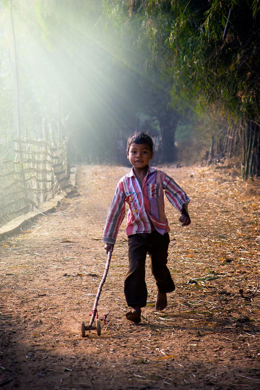 32 Fotos Mágicas De Crianças Brincando Ao Redor Do Mundo