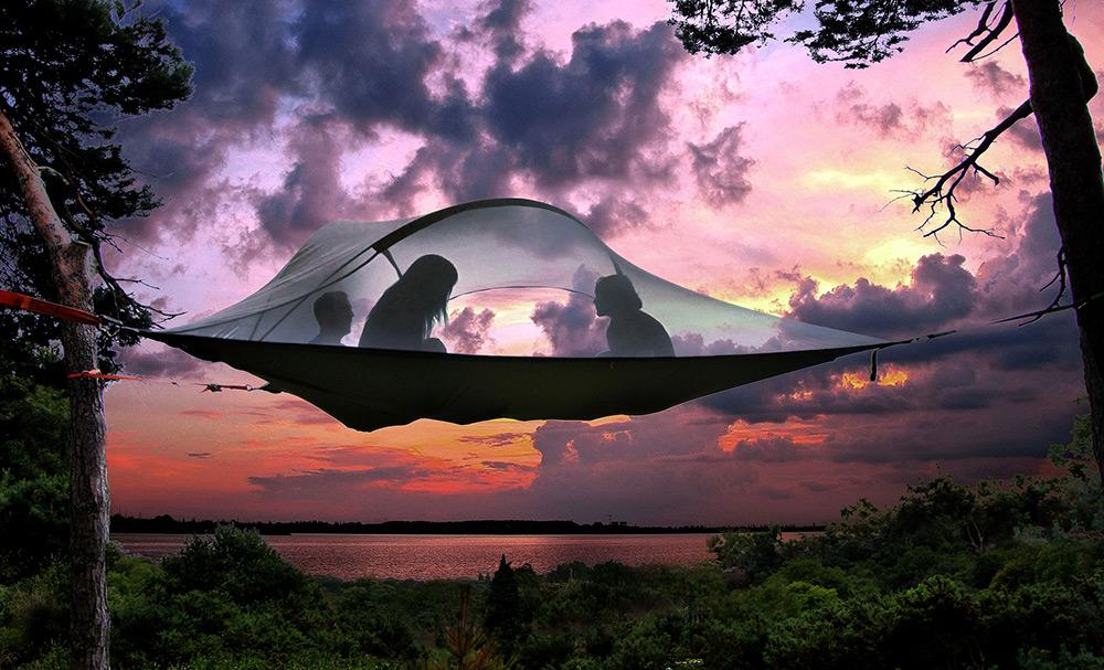 Esta Incrível Invenção Simplesmente Levou O Acampamento Para Outro Nível. É Impressionante, Confie Em Mim.