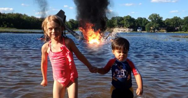Um Pai Apenas Filmou Seu Garotinho… O Vídeo Resultante Irá Surpreendê-Lo. Uau.