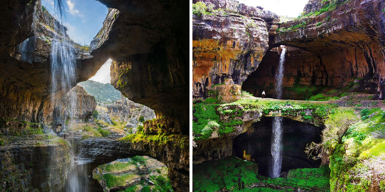 Esta Caverna Peculiar Se Transforma Em Uma Magnífica Cachoeira Quando A Neve Derrete