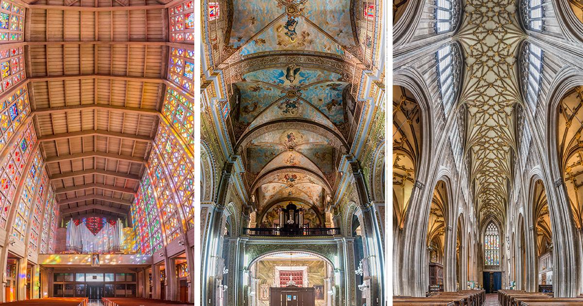 Ele Fotografou As Igrejas Ao Redor Do Mundo A Partir De Uma Perspectiva Perfeita
