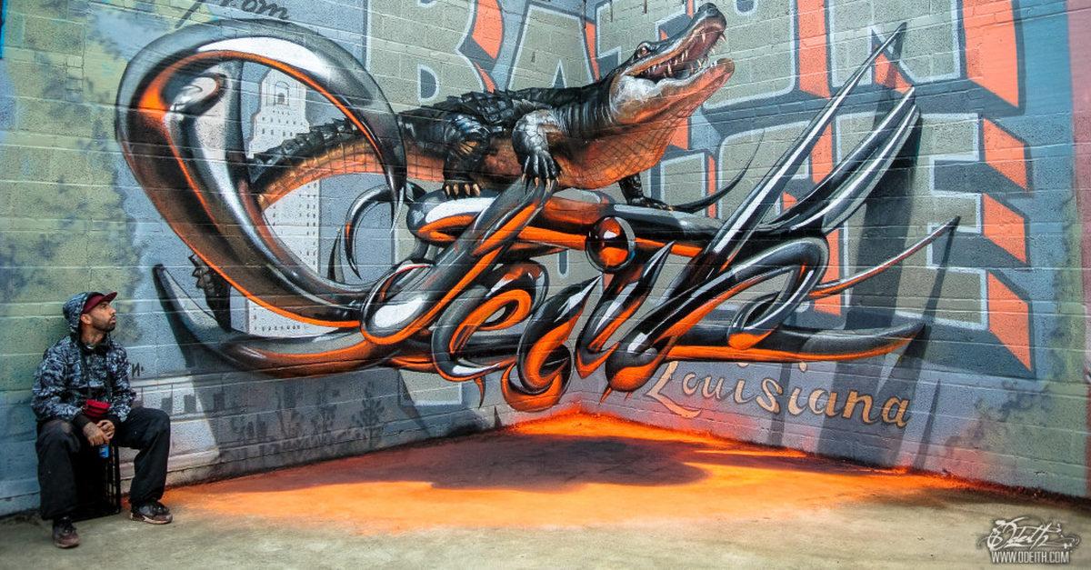 Esse Artista Português Faz Grafites Que Parecem Saltar Dos Muros.