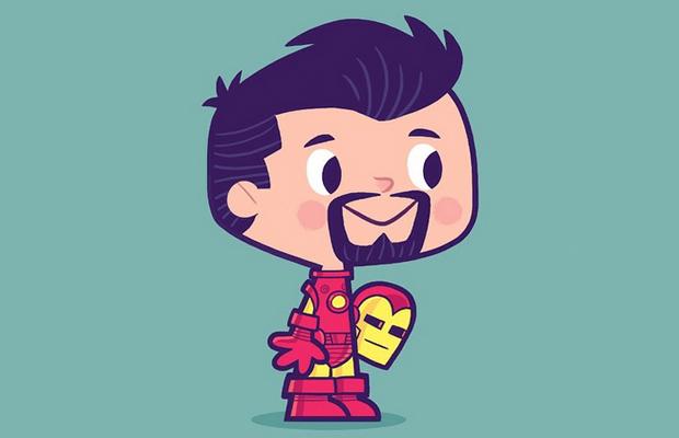 Você Já Imaginou Como Seriam Os Super-Heróis Quando Crianças?
