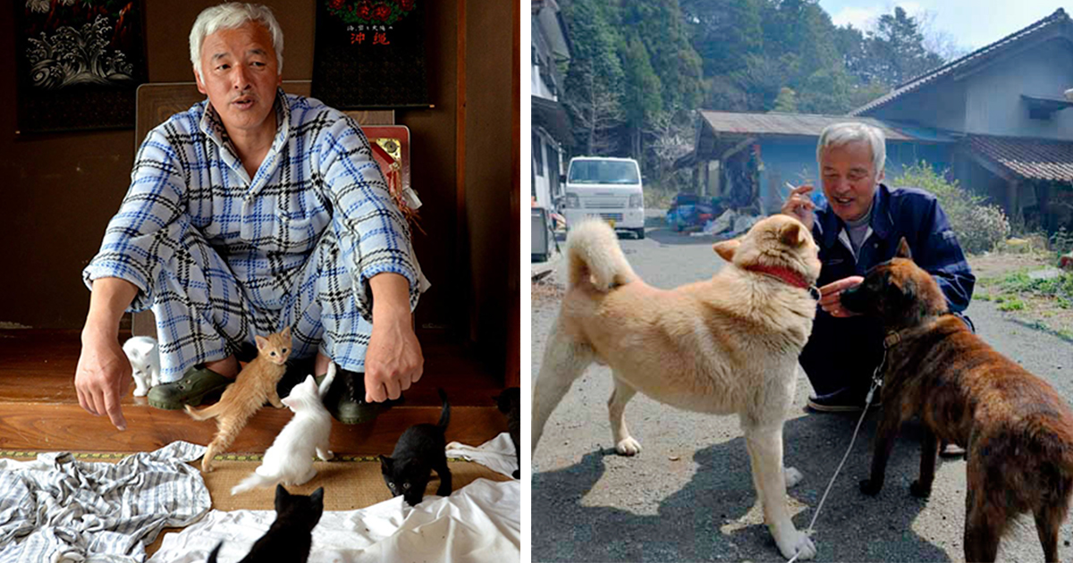 O Homem Radioativo Que Voltou A Fukushima Para Alimentar Os Animais Que Todo Mundo Deixou Para Trás