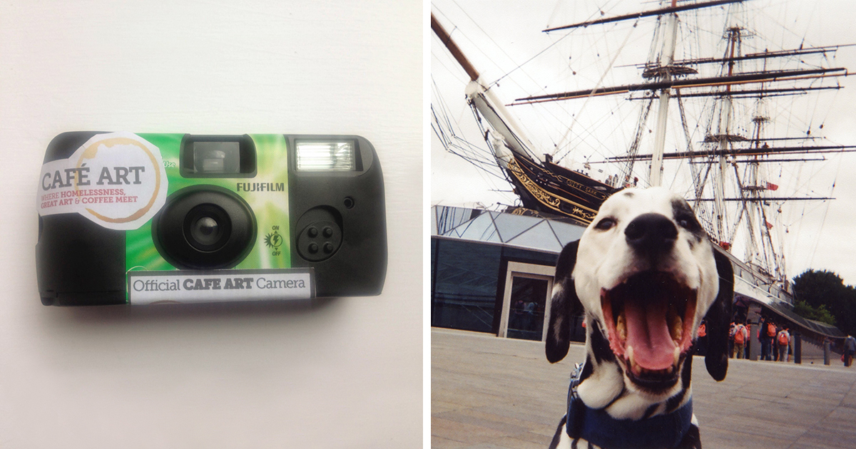 100 Câmeras Foram Dadas Para Desabrigados De Londres. Agora, Todos Estão De Boca Aberta.