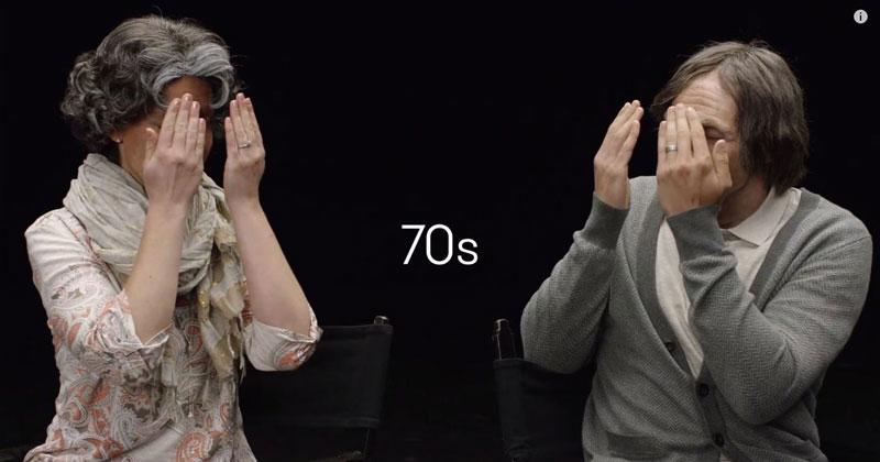 Jovem Casal É Envelhecido Com Maquiagem E Depois Revelado Um Ao Outro