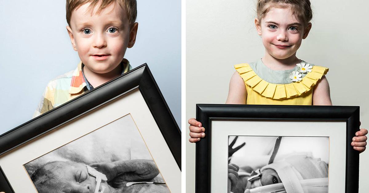 O Antes E Depois De Bebês Prematuros Em Retratos Poderosos