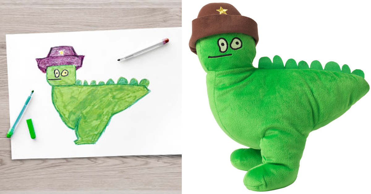 Desenhos De Crianças Viram Pelúcias Para Arrecadar Dinheiro Para Caridade