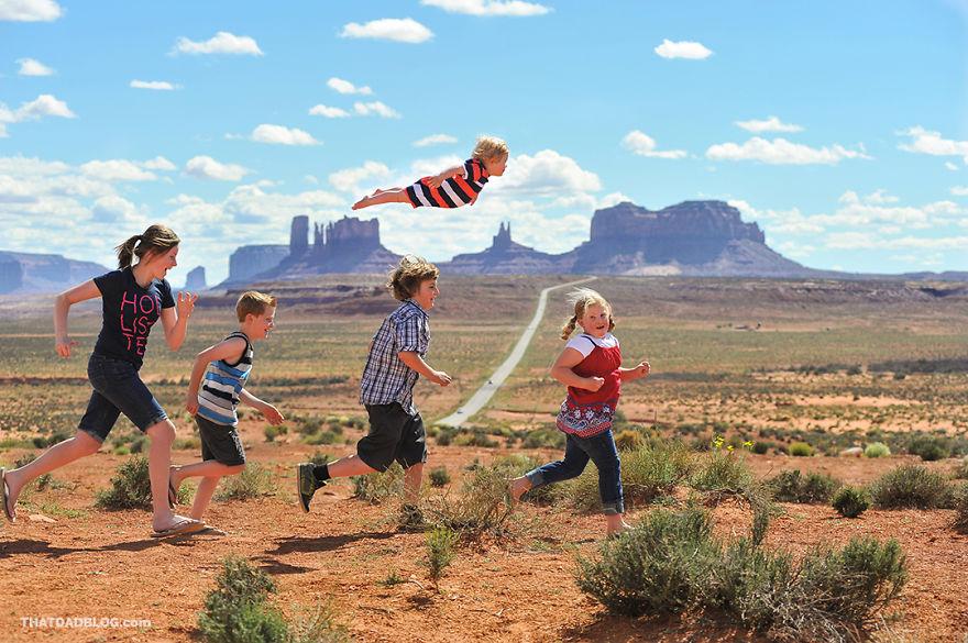 Fotógrafo Faz Filho Com Síndrome De Down Voar Numa Original Série De Fotos!