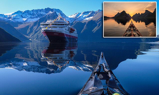 As Impressionantes Fotos Dos Fiordes Noruegueses Tiradas No Instagram A Partir De Uma Canoa