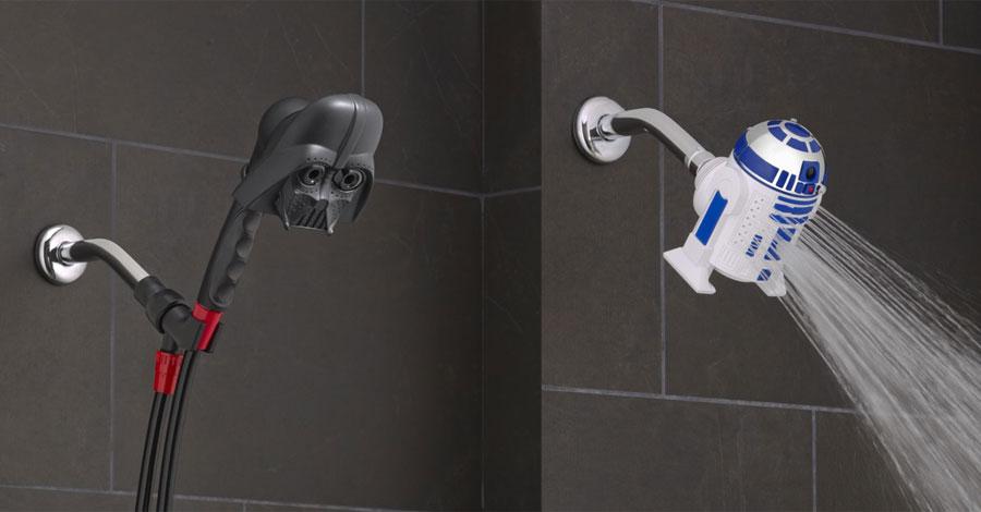 Com Estas Duchas Star Wars Você Vai Sentir A Força (Da Água)
