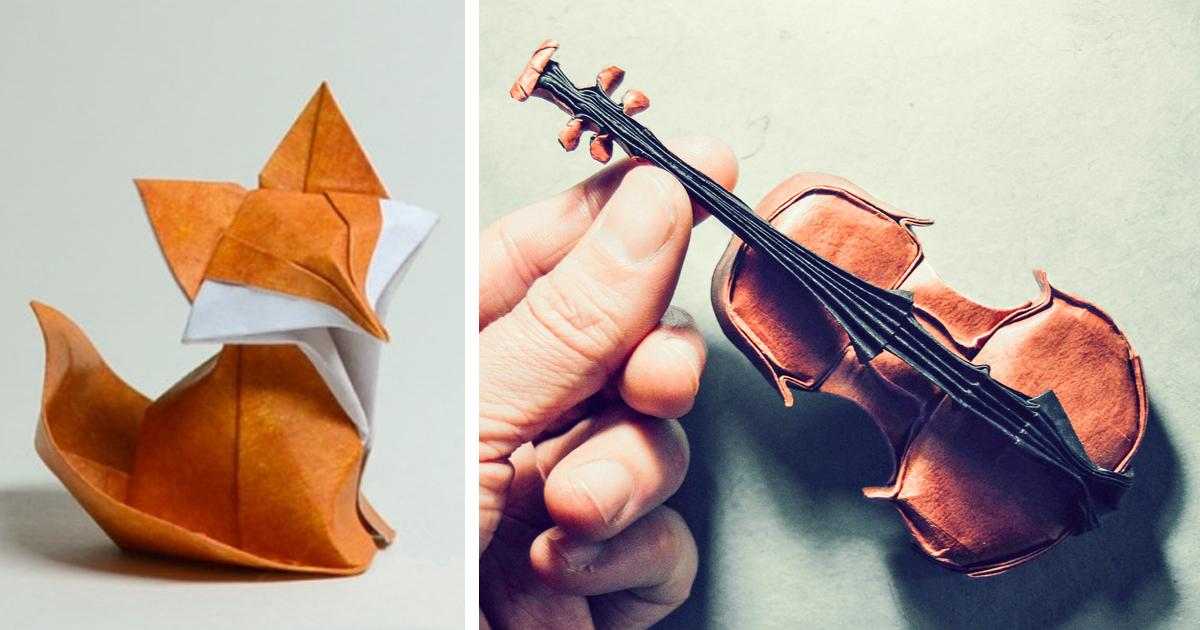 16 Obras Impressionantes De Origami Para Celebrar O Dia Mundial Do Origami