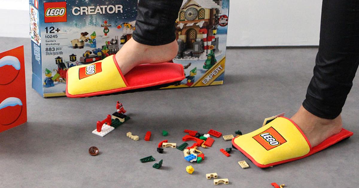 LEGO Cria Chinelos Anti-LEGO Para Acabar Com Os 66 Anos De Dor Horrível