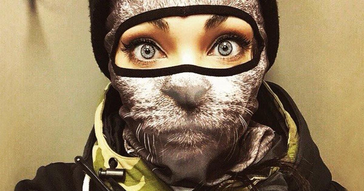 Essas Máscaras De Esqui De Animais São Criativas E Bem Legais
