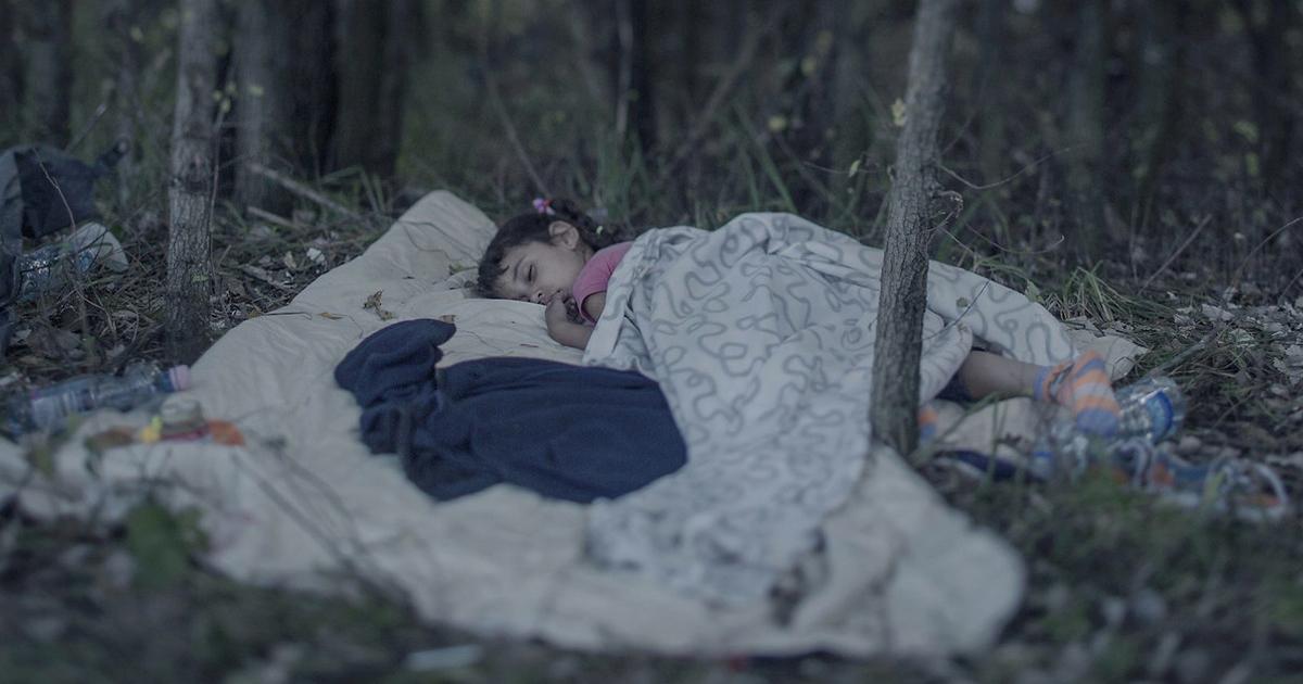 Fotógrafo Revela Onde Crianças Refugiadas Sírias Dormem