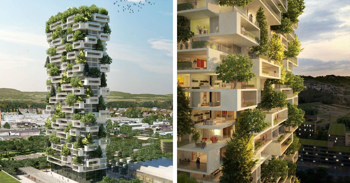 Torre De Apartamentos De 117 Metros Será O Primeiro Prédio Verde