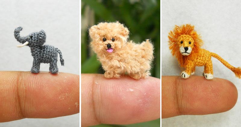Os 25 Animais De Crochê Em Miniatura Mais Fofos Que Você Já Viu