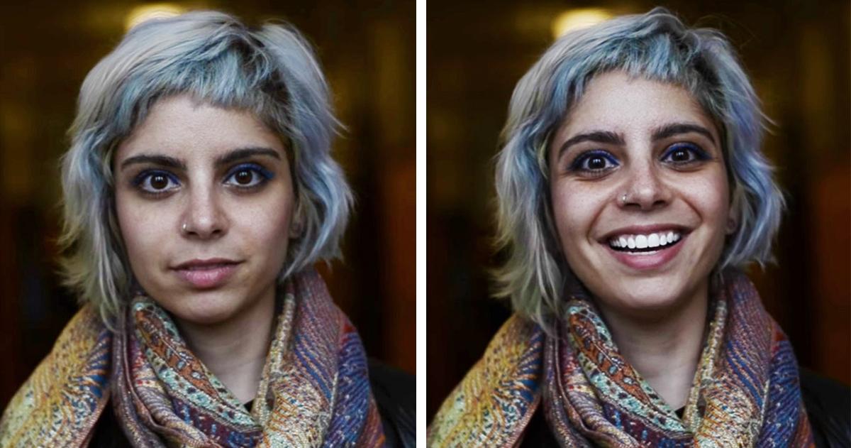Fotógrafa Captura A Reação Das Pessoas Quando Avisadas Que São Bonitas