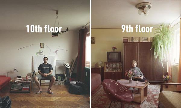 Estas Fotos Fascinantes Mostram Como Diferentes Moradores Vivem Em Apartamentos Idênticos No Mesmo Prédio