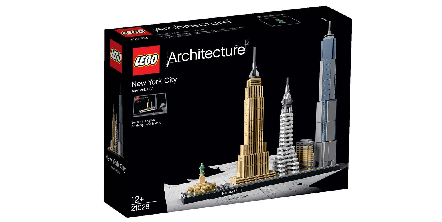 LEGO Lança Kits Para Montagem De Paisagens Urbanas Famosas
