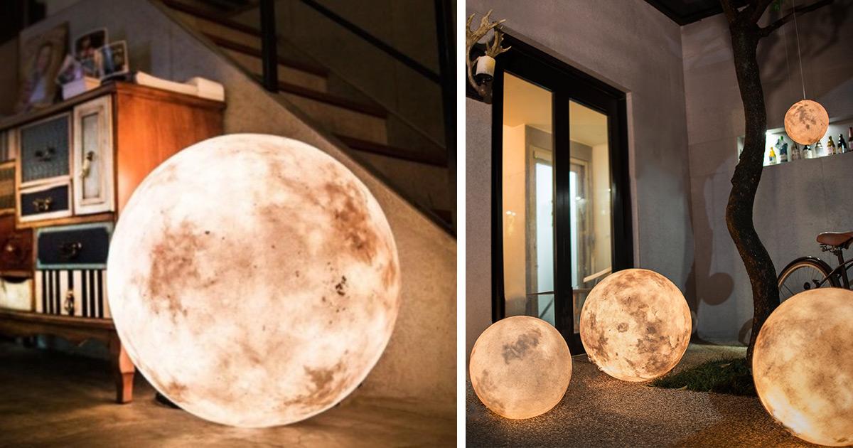 Conheça A Luna, Uma Lanterna Que Parece A Lua