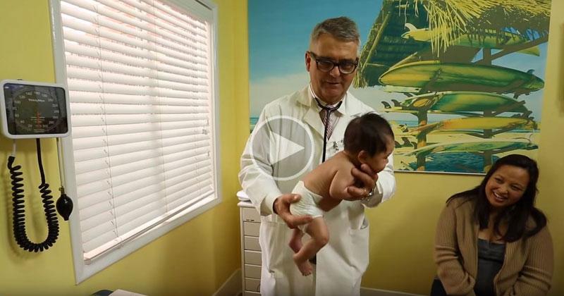 Este Pediatra Revelou O Segredo Para Fazer Bebês Pararem De Chorar
