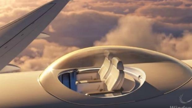 Conheça O SkyDeck, O Assento Da Janela Perfeito Com Vistas De 360 Graus Das Nuvens