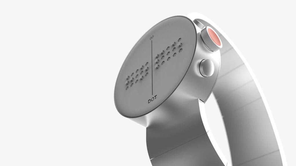 Este Smartwatch Incrível Converte Textos E Emails Para Braille