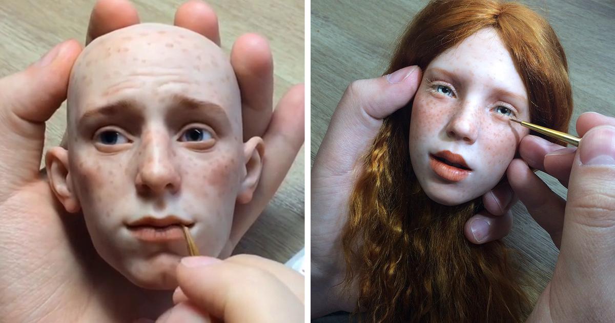 Este Artesão Russo Cria Bonecas Incrivelmente Realistas. É De Arrepiar.