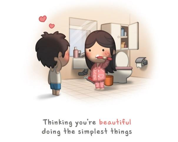 25 Ilustrações Que Mostram O Que É O Amor