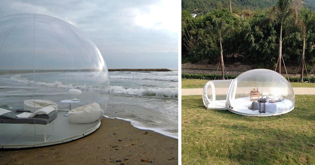 Agora Você Pode Dormir Sob As Estrelas Com Esta Bolha Transparente