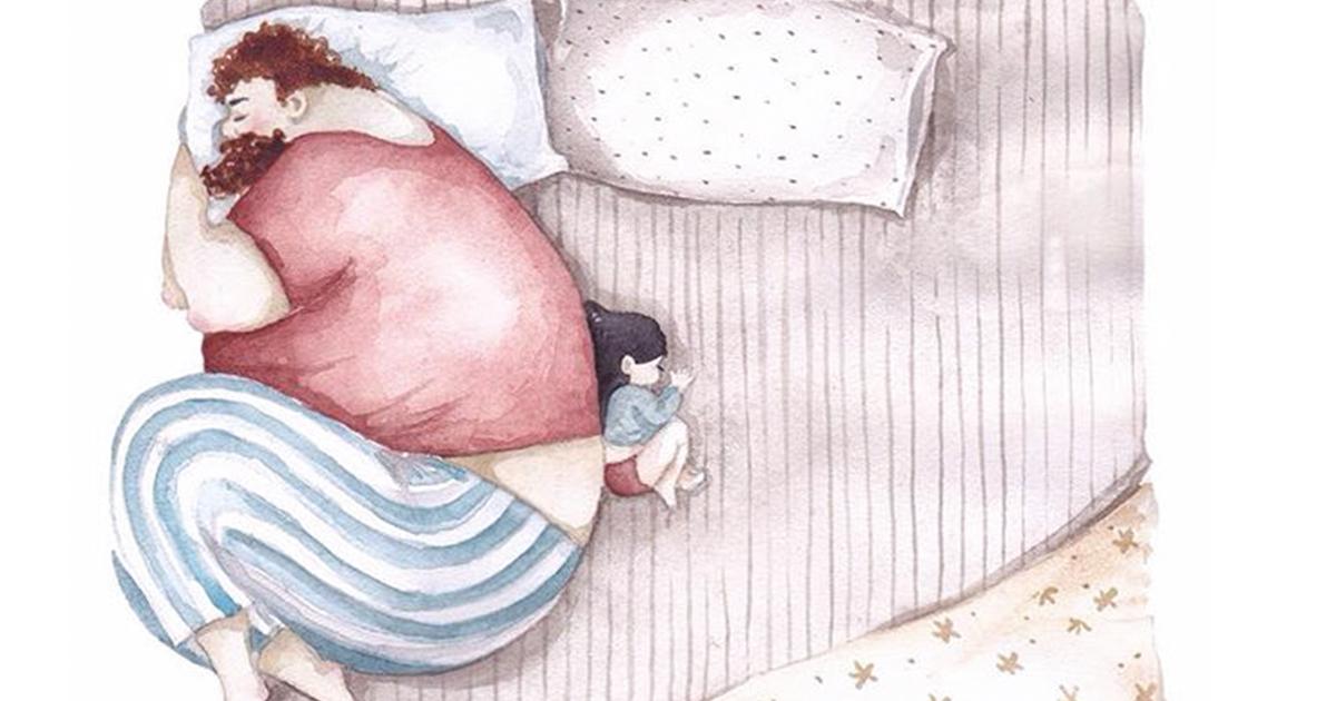 Ilustrações Comoventes Mostram Como É O Amor De Pai E Filha