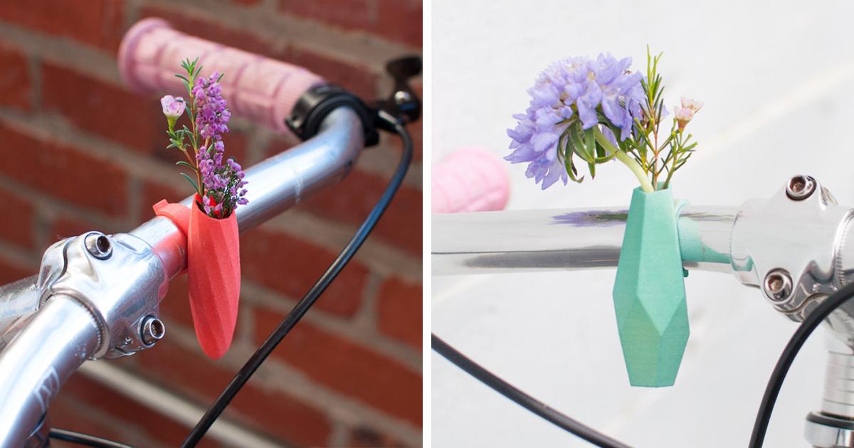Estes Minúsculos Vasos De Flores São O Acessório Perfeito Para Sua Bicicleta